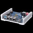 2-bay M.2 SSD IoT mini Server,Quad-core Alpine AL314 1.7GHz,2GB DDR3 on board,1G