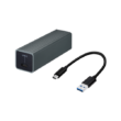 USB 3.0 to single port RJ45 5GbE/2.5GbE/1GbE/100MbE adapter, bus powered, USB ty