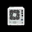 3-Bay NAS, AL324 64-bit quad-core 1.7GHz, 4GB DDR4 SODIMM RAM (1 x 4GB, max 16GB