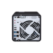 4-Bay 10GbE & Thunderbolt 3 NAS with dual M.2 2280 SATA SSD slots, Intel Celeron