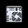 """4-Bay NAS, AMD RX-421ND 2.1~3.4 GHz, 4GB DDR4 RAM (max 64GB), 8x 2.5""""/3.5"""" + 2x"""