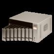 """8-Bay NAS, AMD RX-421BD 2.1~3.4 GHz, 4GB DDR4 RAM (max64GB), 8x 2.5""""/3.5"""" + 2x M"""