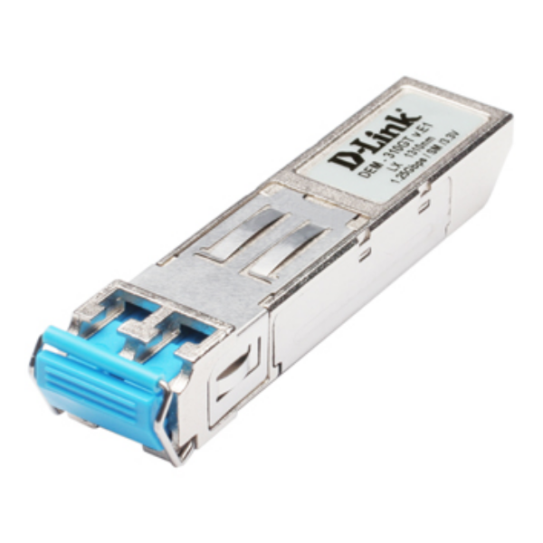 D-Link 1-port Mini-GBIC SFP to 1000BaseLX, 10km for all