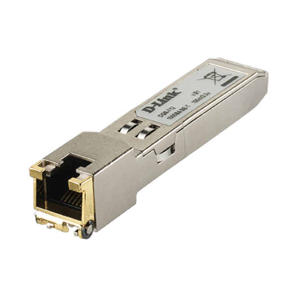 D-link SFP 10/100/1000 BASE-T Copper Transceiver