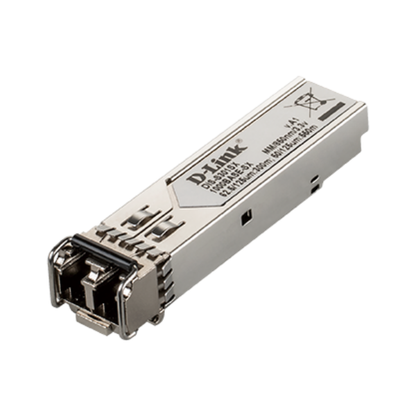 D-link 1-port Mini-GBIC SFP to 1000BaseSX Transceiver