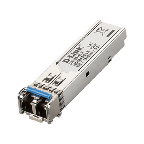 D-link 1-port Mini-GBIC SFP to 1000BaseLX Transceiver