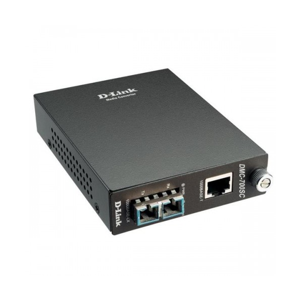 D-Link 1000BaseT to 1000BaseSX (SC) Multimode Media Converter