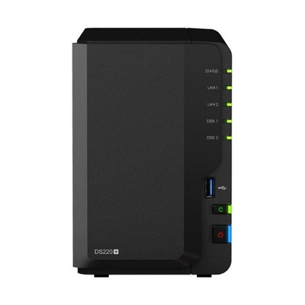 Synology DiskStation DS220+ (6 GB) NAS (2HDD)