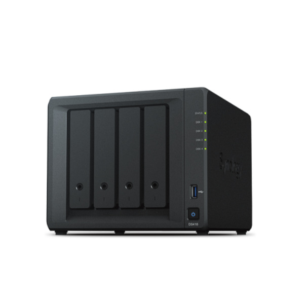 Synology DiskStation DS418 NAS (4HDD)