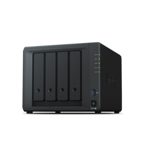 Synology DiskStation DS920+ (4 GB) NAS (4HDD)