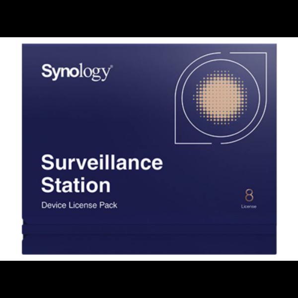 Synology Device license pack - 8, Licenc 8 kamerához vagy I/O modulhoz