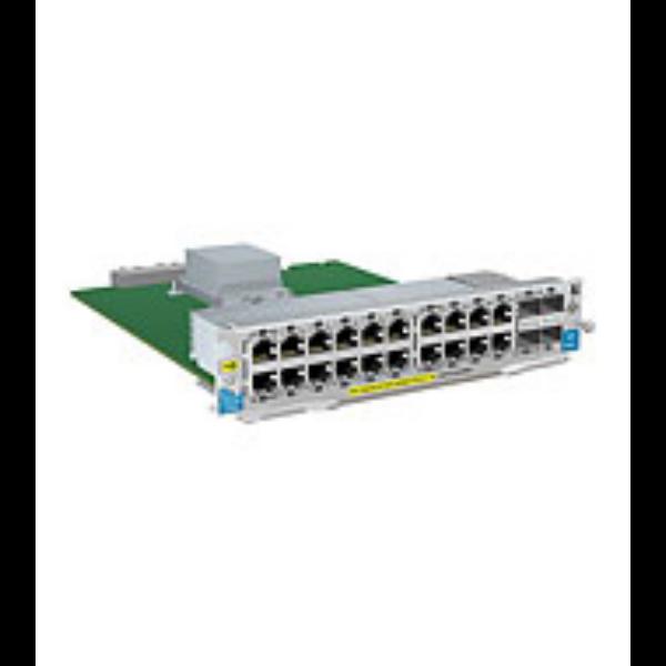 HP 20p 10/100/1000 PoE+/4p MGBIC zl Mod@