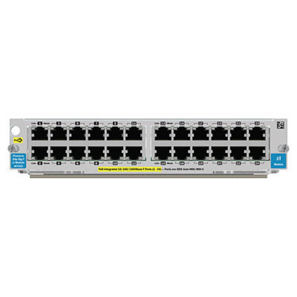 HP 24-port Gig-T PoE+ v2 zl Module