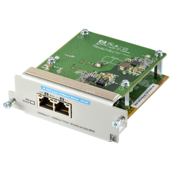 HP 2920 2-Port 10GbT Module