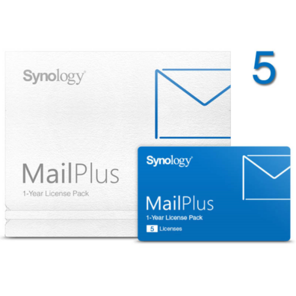 Synology MailPlus license pack - 5 email-fiókhoz