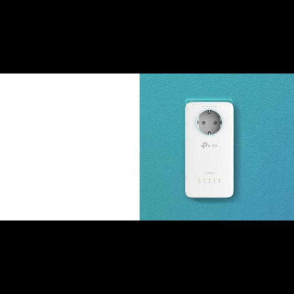 TP-LINK TL-WPA8631P AV1300 Gigabit Passthrough Powerline ac Wi-Fi Extender