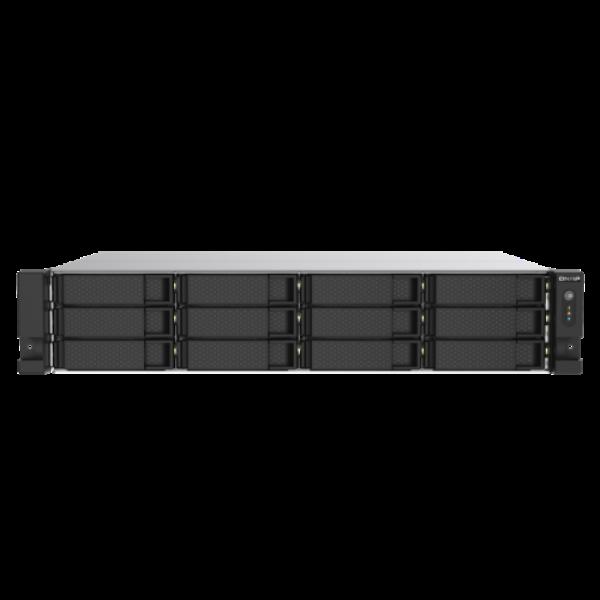 12-Bay NAS, Intel Celeron J4125 (Gemini Lake Refresh) quad-core 2.0GHz (burst up