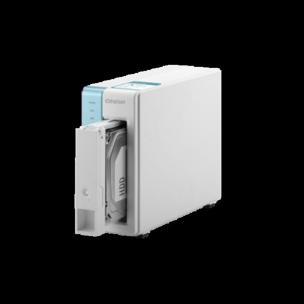 1-Bay NAS, Annapurna Labs AL214 Quad core 1.7GHz, 1GB RAM, SATA 6Gb/s,  1x GbE L
