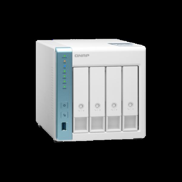 4-Bay NAS, Annapurna Labs AL314 Quad core 1.7GHz, 4GB DDR3L SODIMM RAM (max 8GB