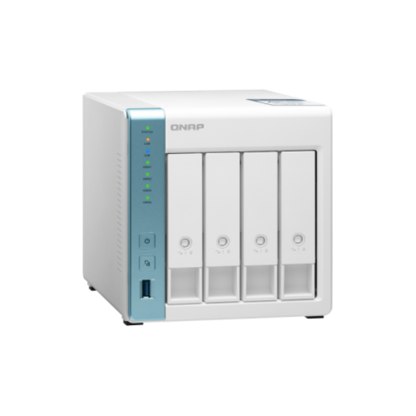 4-Bay NAS, Annapurna Labs AL314 Quad core 1.7GHz, 4GB DDR3L SODIMM RAM (max 8GB