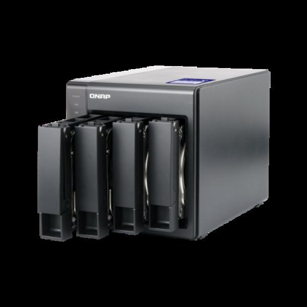 4-Bay NAS,Annapurna Labs AL314 Quad core 1.7GHz, 2GB DDR3 SODIMM RAM (max 8GB),