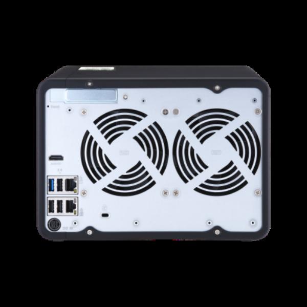 6-Bay NAS, Intel Celeron Gemini Lake J4125 quad-core 2.0GHz (up to 2.7GHz), 4GB